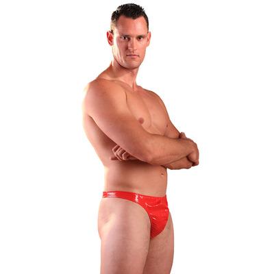 PVC Male Thong