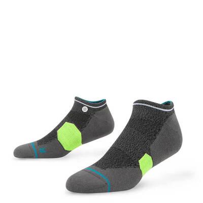 Stance Golf Socks Pebble Low Grey Lime 2017