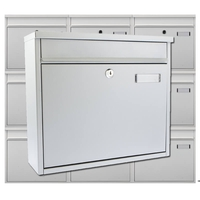 Multiple Ouse Silver Mailboxes for Communal Areas