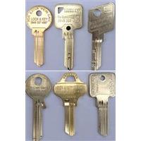 Lock and Key Specialist Keys - Security key