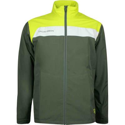 Galvin Green Waterproof Golf Jacket - Austin - Beluga AW18