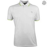 Galvin Green EDGE Golf Shirt - E-White Camo 2018