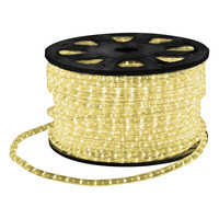 LED Rope Light with Wiring Accessories 45m Warm White