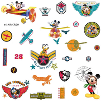 Mickey Mouse Air Patrol, 31 Wall Stickers
