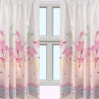Horse and Ballerina, Nursery Curtains 72s