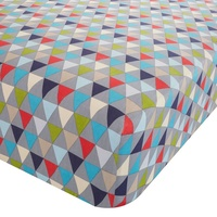 Catherine Lansfield Kids Geo Single Fitted Sheet