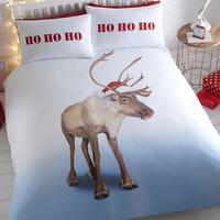 Blitzen, Christmas Themed King Size Bedding