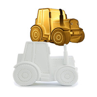 3D Ceramic Night Light - Tractor