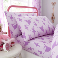 Ballerina Single Fitted Sheet and Pillowcase