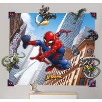 Spiderman 3D Wall Mural