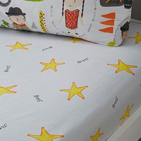 Cowboys and Indians Toddler Fitted Sheet