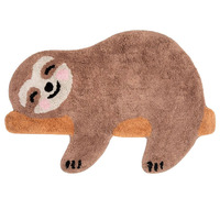 Happy Sloth Rug 70 x 48 cm