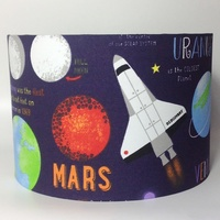 Planets, Large Fabric Light Shade