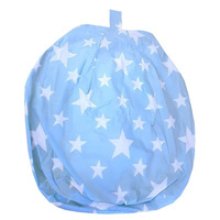 White Stars, Blue Bean Bag