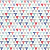 Jester, Blue Geometric Wallpaper