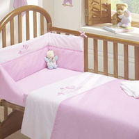 Tweet Dreams 3 Piece Cot Bale - Quilt, Bumper and Fitted Sheet