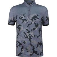 Galvin Green EDGE Golf Shirt - Kommendor Camo - Grey 2019