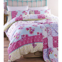 Catherine Lansfield Gypsy Patchwork Double Duvet Set