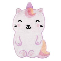 Luna Caticorn Shaped Rug - 41 x 68 cm