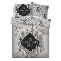 Harry Potter King Size Bedding - Marauders Map
