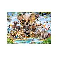 Jungle Safari, Designer Wallpaper Mural