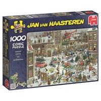 Jumbo 13007 Jan Van Haasteren - Christmas 1000 Piece Jigsaw Puzzle