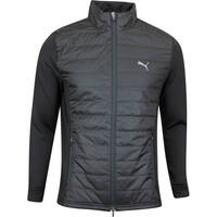PUMA Golf Jacket - Quilted Primaloft FZ - Black SS20