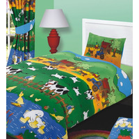 Farm Animal Toddler Bed Linen