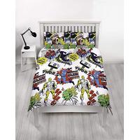 Marvel Comics Double Bedding - Scribble
