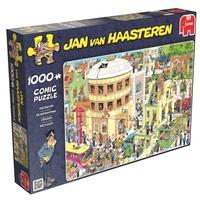 Jan Van Haasteren - The Escape! - 1000 Piece Jigsaw Puzzle