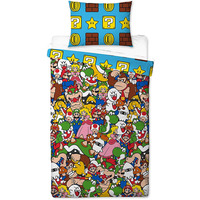 Super Mario Single Duvet - Gang