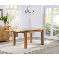 Filey Oak Extending Dining Table