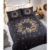 Holly Wreath, Christmas Single Bedding