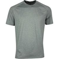 RLX Golf T-Shirt - Athleisure Airflow Tee - Boulder Grey SS20