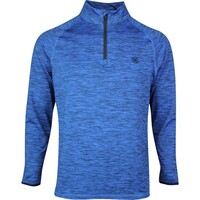 G/FORE Golf Pullover - Space Dye Mid - Twilight Melange SS20