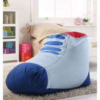 Trainer Shaped, Childrens Bean Bag - Blue
