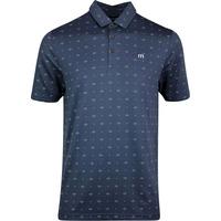 TravisMathew Golf Shirt - KnowWhatImSayin Polo - Blue Nights SS20