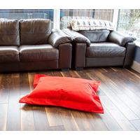 Red, Waterproof Bean Bag Lounger - Small