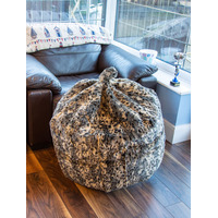 Leopard Print Large Bean Bag