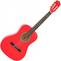 3/4 Size Classical Guitar Pack Red