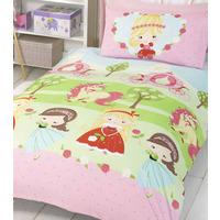 Pretty Princess and Unicorn Toddler Duvet Set