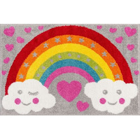 Rainbow for Heroes Bedroom Rug 80 x 120