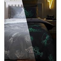 Ocean Life Glow in the Dark Bedding Sets