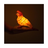 Mini T-Rex Dino LED Light - Orange