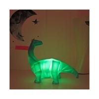 Mini Brachiosaurus Dino LED Light - Green