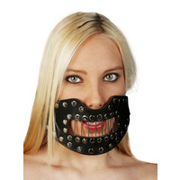 Leather Hannibal Mouth Mask
