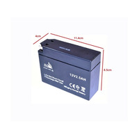 Cobra 4S Mini Dirt Bike Battery Slim