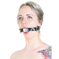 40mm Ball Gag with Leather Strap