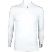 Hugo Boss Pellan Pro Golf Shirt Training White SP15