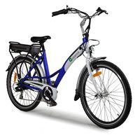 "Enhance 26"" Tourer Blue Electric Bike"